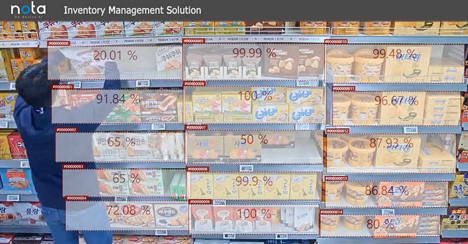 Nota inventory management